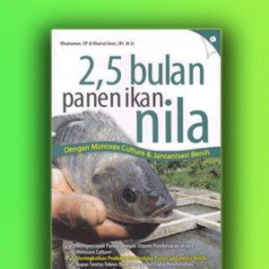 2,5 bulan panen ikan nila