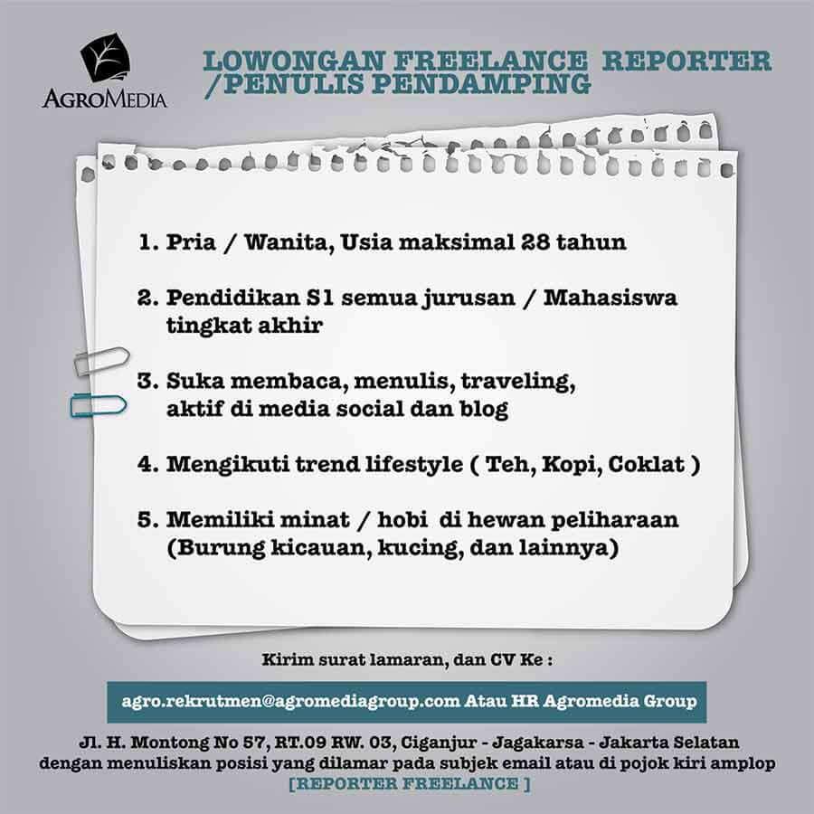 reporter freelance agromedia