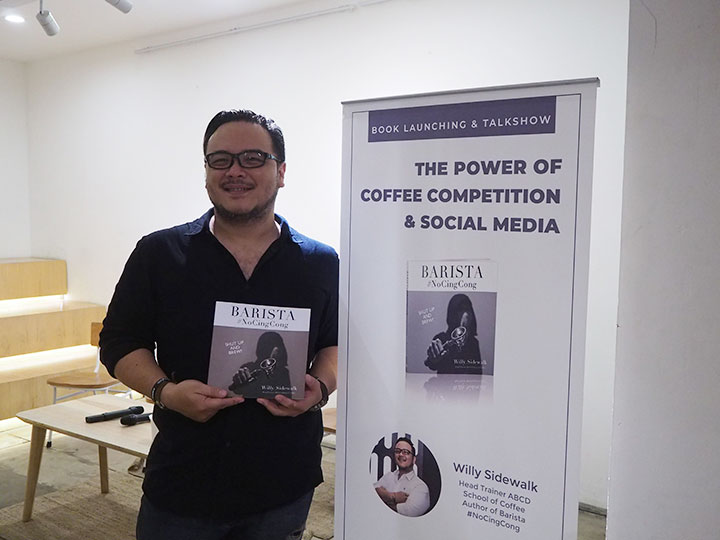 book launching talkshow the power of coffee competition social media