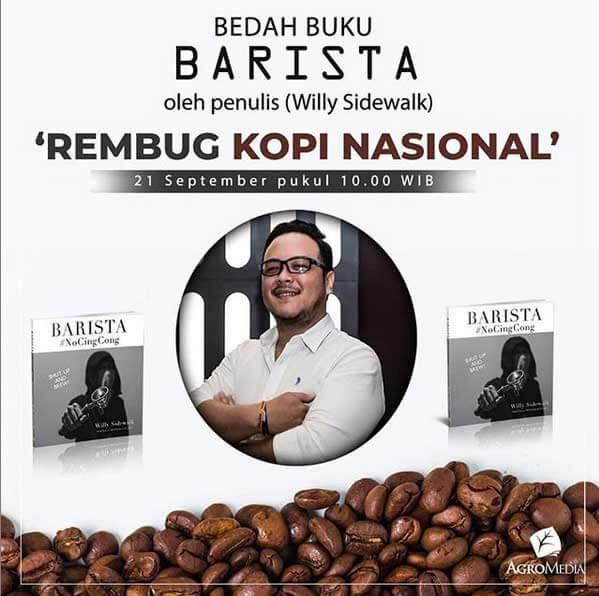 bedah buku barista di rembug kopi nasional