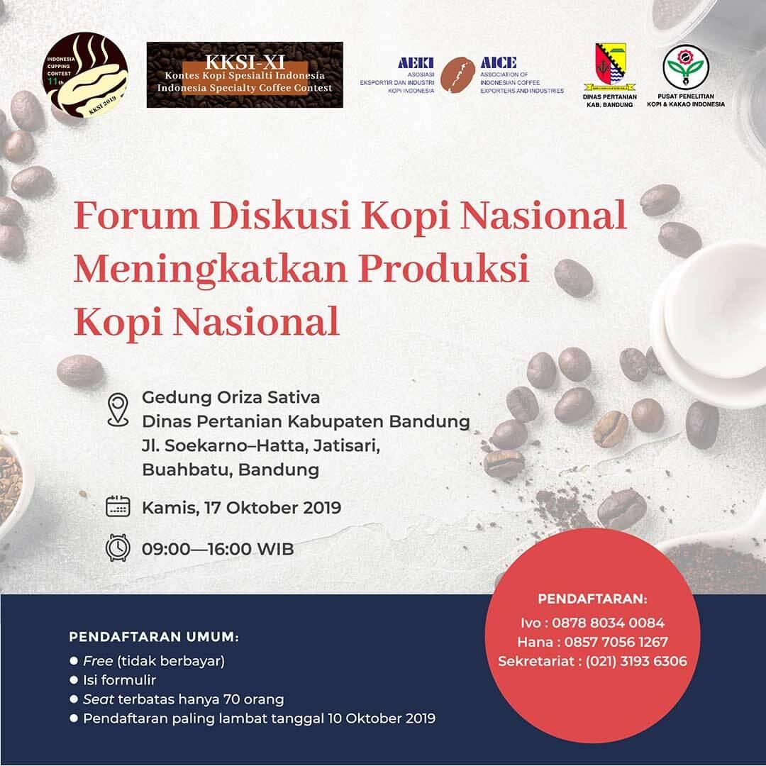Forum Diskusi Kopi Nasional