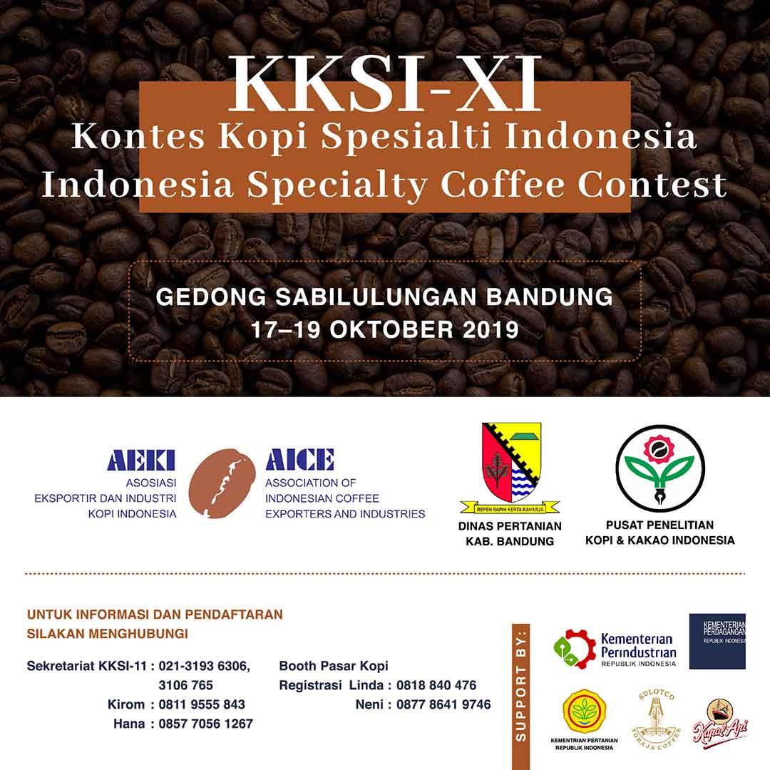 KKSI XI Kontes kopi Spesialti Indonesia