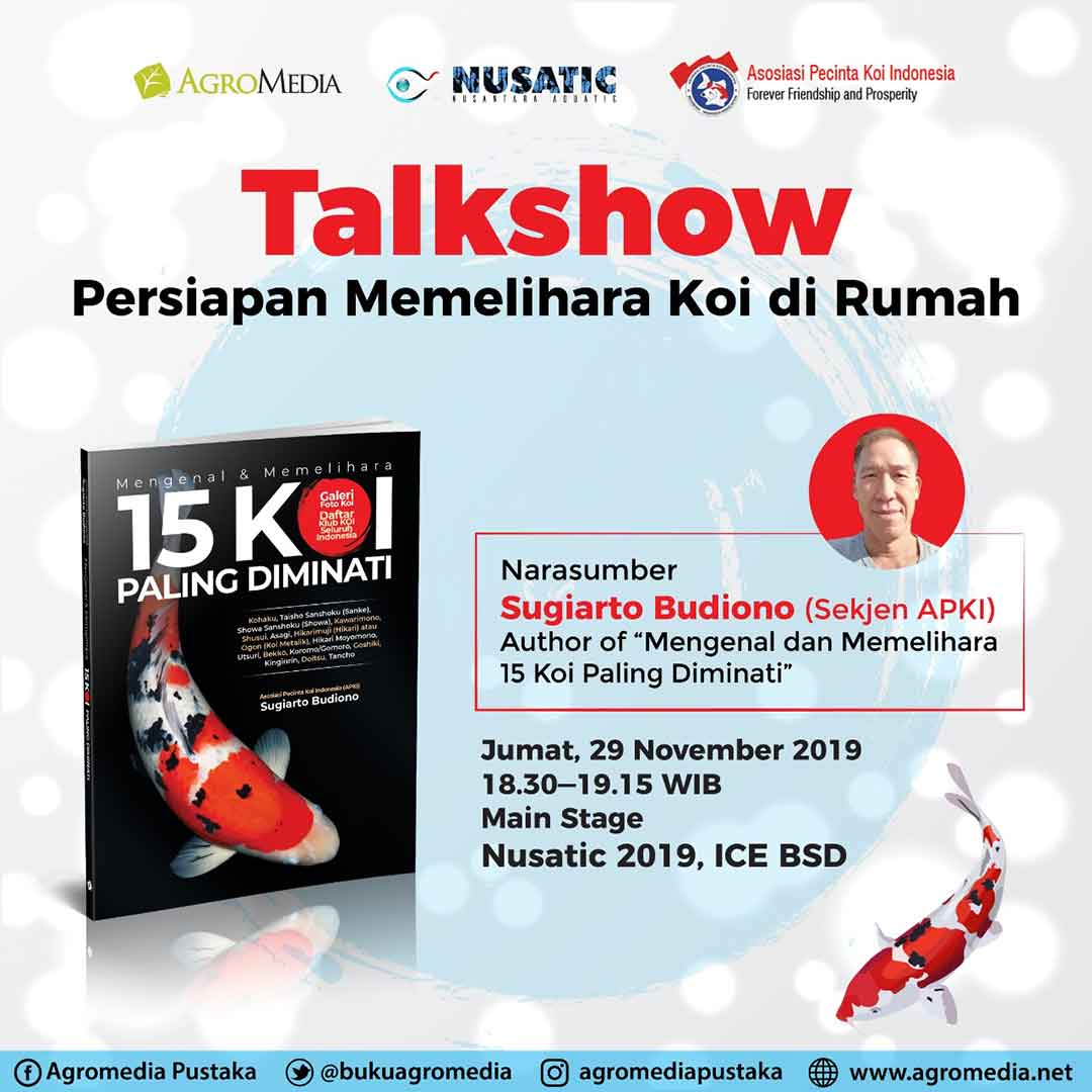 Talkshow KOI di Nusatic 2019