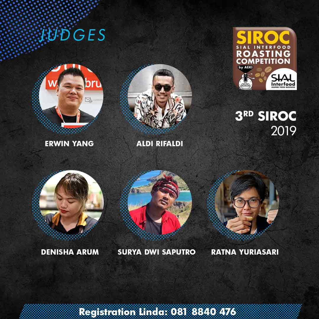 technical Judges SIROC 2019