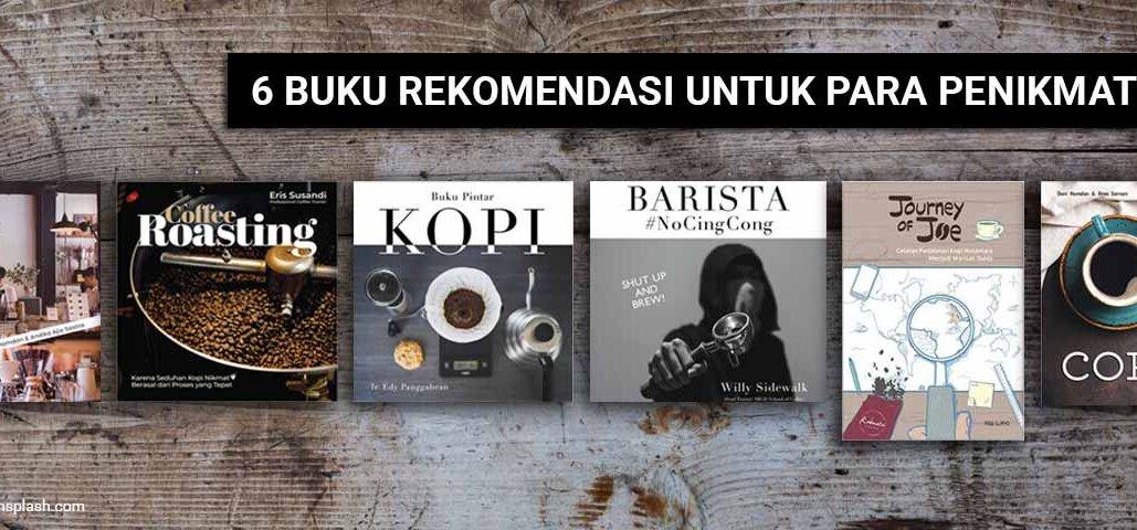 6 rekomendasi buku kopi