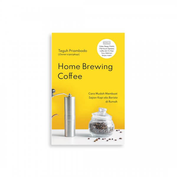 home brewsing coffee