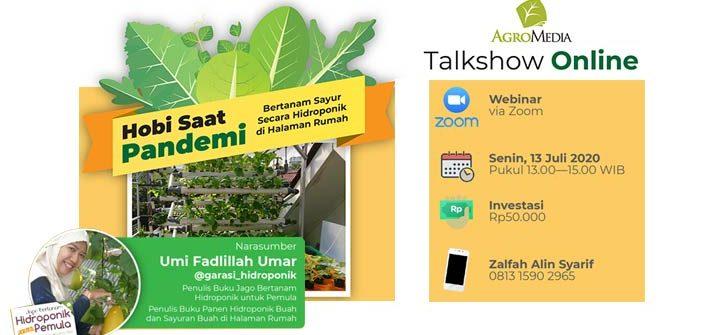 talkshow online hidroponik