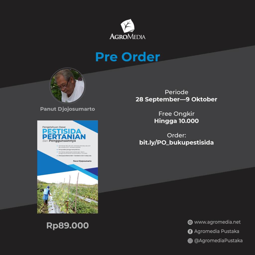 pre order buku pestisida pertanian