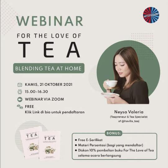 Webinar For Love of Tea